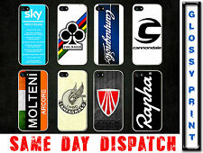 SKY I PRO CYCLING Road Race Brand Quotes Logo iPhone 5/5s Black/White Case Cover