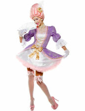 Ladies Sexy Marie Antoinette Baroque Outfit French Fancy Dress Costume