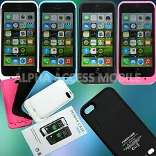 External Battery Case for APPLE iPhone 5 5S Power Bank Backup Charger 2500mAh