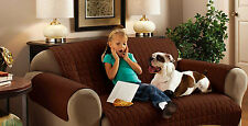 Water Repellant Furniture Protector for Sofas/Settees - 1, 2 or 3 seater - Brown