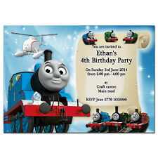 i04 Personalised Birthday party invitations invites 1st 2nd 3rd 4th 5th any text