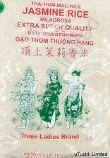 5 Pounds Three Ladies Brand Jasmine Rice Milagrosa Extra Super Quality Thailand