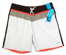 Speedo FLX System Brief Lined Water Shorts Boardshorts Swim Trunks Mens NWT