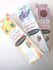3 SCENTED TOILET PAPER ROLLER TISSUE ROLL HOLDER