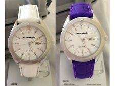 Freestyle USA Avalon Watch Women's NEW in BOX $135 White Purple Dive