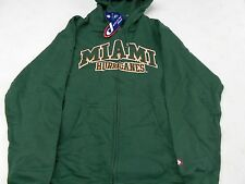 MIAMI HURRICANES NCAA HOODED HOODIE SWEAT SHIRT PRO PLAYER NWT M L XL 2XL