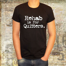 rehab is for quitters new t shirt dj ibiza dance party fun teenage boys girls l2