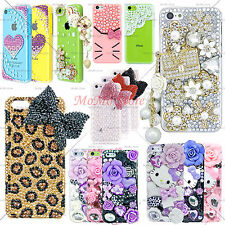 Luxury 3D Diamond Crystal Cute Handmade Design Case Cover for Apple iPhone 5c C