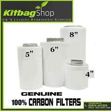 """Carbon Filter for extractor fan hydroponics grow kit 4"""" 5"""" 6"""" 8"""" 12"""""""