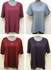 MAGLIFICIO  ITALY FASHION WOMEN'S SHORT SLEEVE T-SHORT, COLOR / SIZE VARIATIONS