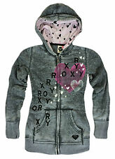 New ROXY Girls Hoodie Sz S / M / L / XL Kids Teens Juniors Zip Hoody Quiksilver