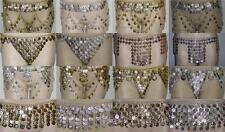 Belly Dance Metal Coins Belt Tribal Gypsy Dancing Gold or Silver Tone
