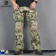 Emerson G3 Combat Pants with knee Pads Airsoft Tactical Trousers AOR2 EM7049
