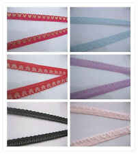 Embroidered / ribbons! 10 yards of lace ribbon craft ribbon embroidery net