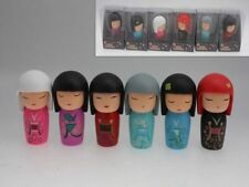 Haruko Dolls Set of 6 Assorted Colours in PVC Box 3 sizes  Ornaments Great Gift