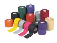 """NEW MUELLER MTAPE 1.5"""" x 10yd ATHLETIC TRAINERS SPORTS M TAPE ALL COLORS 6 ROLLS"""