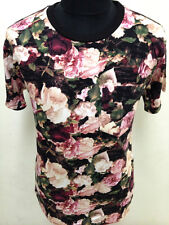 New Floral Pocket order camo rose nyc indie mod street wear UK t-shirt M L XL