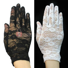 Useful Sexy Wedding Driving Evening Beautiful Lace Gloves For Women Ladies Gift