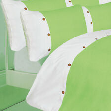 LIME GREEN COLOUR STYLISH QUILT DUVET COVER LUXURY BEAUTIFUL COTTON RICH BEDDING