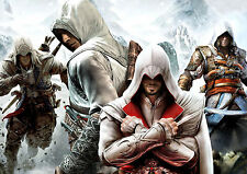 p299  Personalised poster made to order custom special present assassin's creed