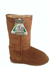 Australian Made Genuine Sheepskin Classic Tall UGG Boots Chestnut Colour