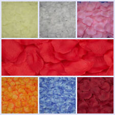 1000pcs/set Various Colors Silk Flowers Rose Petals Wedding Party Decorations
