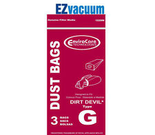 Royal/Dirt Devil Type G Hand Vac Vacuum Cleaner Bags #  3010347001,3010348001