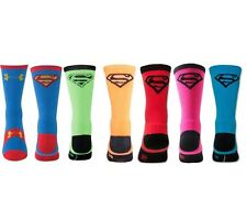 Under Armour Alter Ego SUPERMAN Crew Socks Performance Men's & Kid's Youth