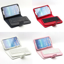 """Bluetooth 3.0 ABS Removable Keyboard PU Case for Samsung Galaxy Tab3 8""""T310/T311"""
