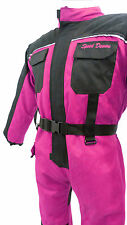 Baby Biker Kids Motorcycle Textile X-Tenda Suit Quad Waterproof Armour Pink - T