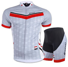 Bike Men Short Sleeve Clothing Bicycle Set Cycling Suit Jersey Shorts Quick Dry