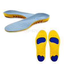 New 1Pair Super Memory Foam Orthotic Arch Pain Relief Sports Support Shoe Insole