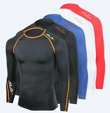 Sub Sports RX Men's Compression Top Baselayers - Skin Tight Body Armour
