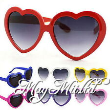 Fashion Retro Summer Heart Shape Design Lolita Sunglasses Eye Glasses N