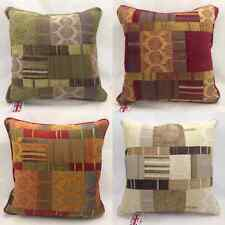 """Morocco Luxury Tapestry Chenille Cushion Cover, 17"""" X 17"""" 4 Colours"""