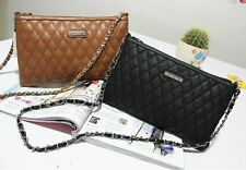 MANGO Women Bag Quilted Handbag Shoulder Vintage Chain Crossbody Flapover Bag