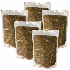 DRIED MEALWORMS WILD BIRD FOOD IN RESEALABLE POUCHES 1kg 2kg 3kg 4kg 5kg or 10kg