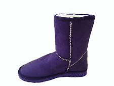 Ugg Boots Classic Short Synthetic Wool Colour Purple For Junior Girl