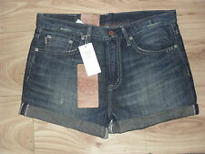 BNWT Ralph Lauren Ginger Boyfriend Shorts Faded Denim Waist 32 Inches