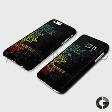 Think Life Good Quote Vibe Thoughtful Inspirational Words Hard Phone Case Cover