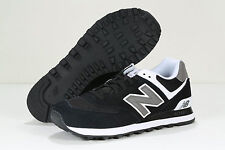 NEW BALANCE 574 SUEDE BLACK GREY WHITE M574SKW CLASSICS NB Ronnie Feig Kith DS