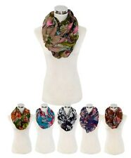 The Earth-Tone Viscose Infinity Scarf (LS4440IF)