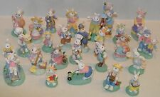 Cottontail Lane Easter Village Figurines CHOICES Midwest of Cannon Falls Figures