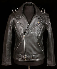 Ghost Rider Men New Biker Cruiser Style Real Soft Leather Fashion Movie Jacket