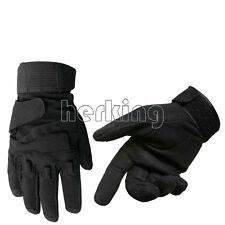 Black Hawk Full finger Military Tactical Airsoft Adjustable Protective Gloves