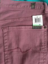 7 seven for all mankind Jeans Men's 31 32 33 34 36 38 NWT Standard Mens Colored