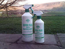 BARRIER SUPER PLUS FLY REPELLENT SPRAY with coat conditioner horse pony