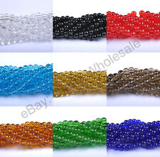 Wholesale 4MM 6MM 8MM 10MM 12MM Top Quality Czech Glass Round Spacer Loose Beads