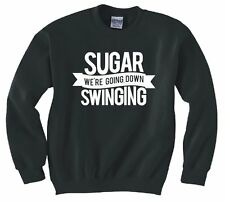 "FALL OUT BOY ""SUGAR WE'RE GOING DOWN SWINGING"" SWEATSHIRT NEW"