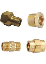NPT ADAPTERS, REDUCERS, COUPLERS, BUSHINGS - ANY SIZE - SOLID BRASS AIR FITTINGS
